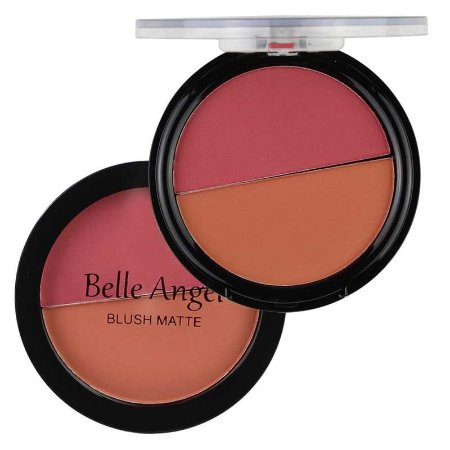Blush Duo Matte Belle Angel B017 - Cor 3