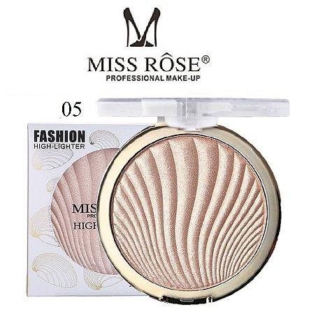 Iluminador Facial Brilho Intenso Miss Rose 7001-043M5 - Cor M5