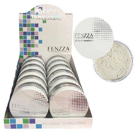 Pó Facial Translúcido Fenzza FZ34001 - Display com 12 unidades