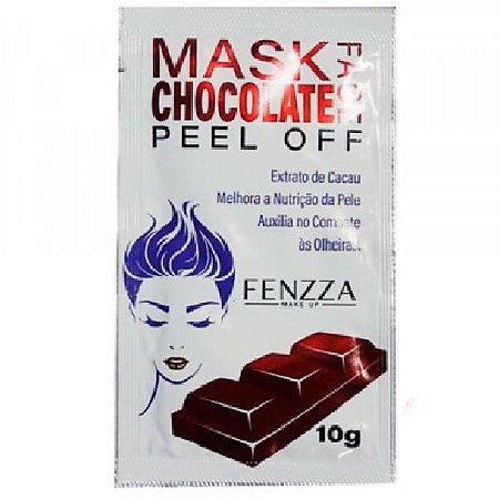 Máscara Facial Anti Olheiras Chocolate Mask Sachê 10g Fenzza FZ38018