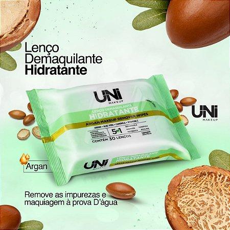 Lenço Demaquilante Hidratante Uni Make Up - Kit C/ 6 Unid