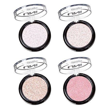 Uni Makeup - Iluminador Holografico Glow  - Kit C/ 4 Unid