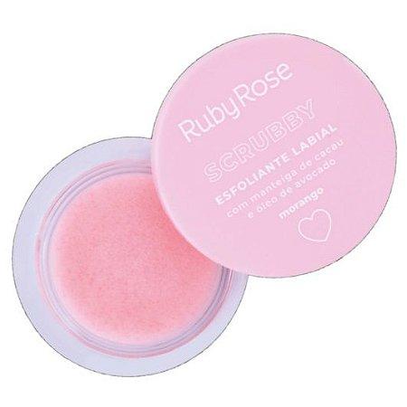 Ruby Rose - Scrubby Esfoliante Labial HB8525 - Morango