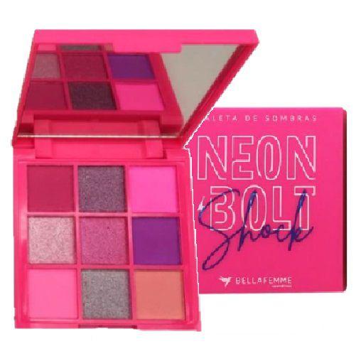 Paleta de Sombras Neon Bolt Bella Femme BF10097 – Shock