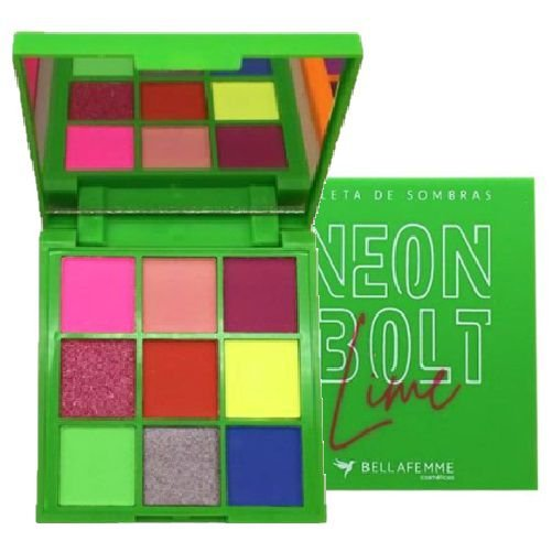 Paleta de Sombras Neon Bolt Bella Femme BF10097 – Lume