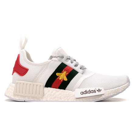dbd68c0c3 Tênis Adidas NMD R1 Gucci Bee Branco - GeG Outlet