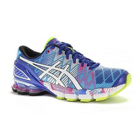 ... discount code for tênis asics gel kinsei 5 azul e rosa 69848 cc9dd 677fea803e1dc