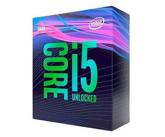 Processador Intel Core i5-9600k Socket LGA 1151 3,70Ghz 6 cores 6 threads Box Cofee Lake 9ª Geração - Bx80684i59600k
