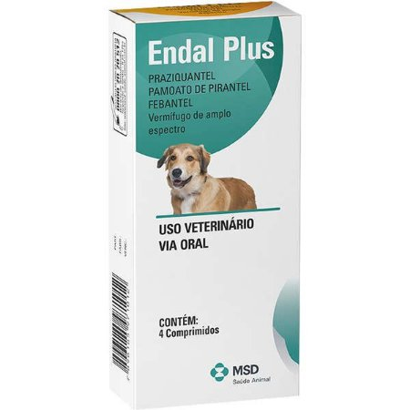 Endal Plus Vermífugo MSD Saúde Animal