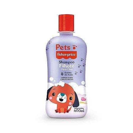 Shampoo Pets Para Cães Filhotes Fisher Price 400ml