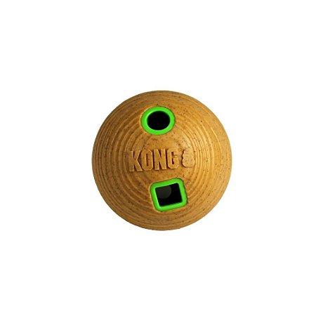 Brinquedo Recheável Kong Bamboo Feeder Ball para Cães