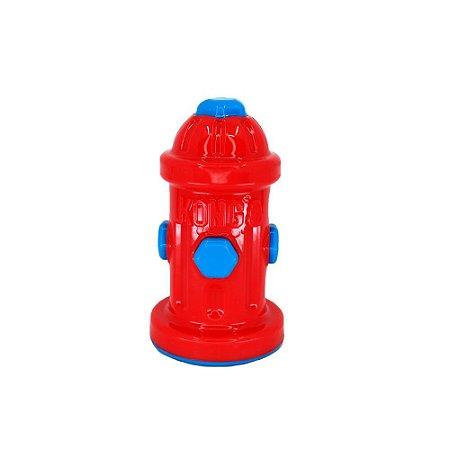 Brinquedo Interativo Kong Eon Fire Hydrant para Cães