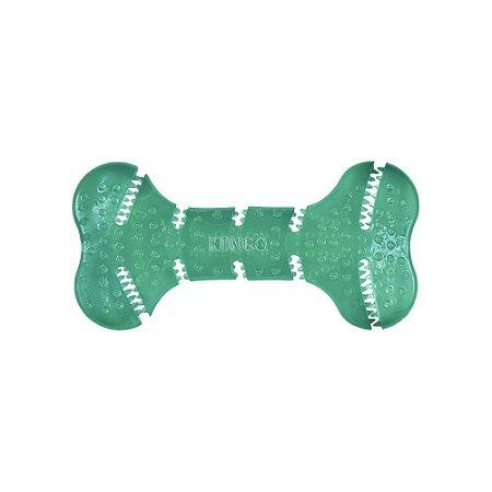 Brinquedo Kong Squeezz Dental Bone para Cães