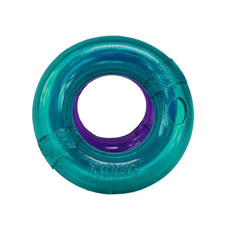 Brinquedo Recheável Kong Treat Spiral Ring para Cães