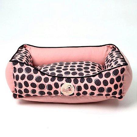 Cama para Cachorros   Gatos Biscoito Rosa