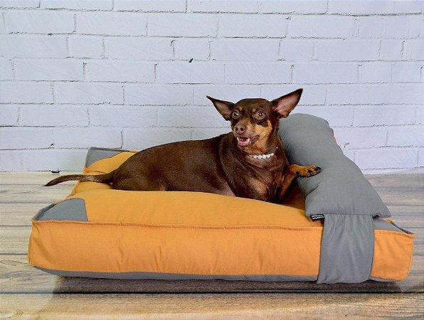 Almofadão para Cachorros | Gatos Reserved Caramelo