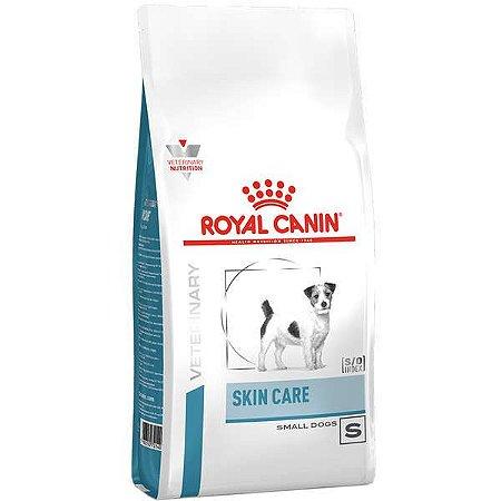 Ração Royal Canin Skin Care Small Dog para Cães Adultos de Pequeno Porte