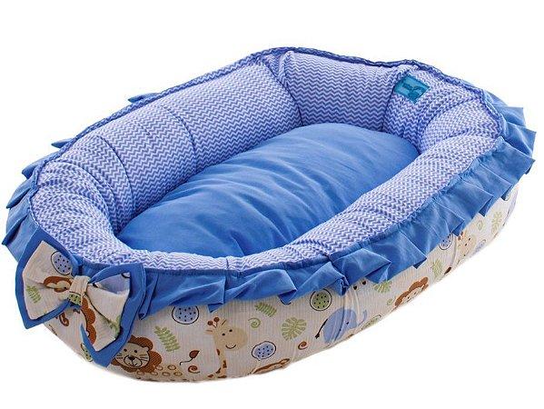 Cama para Cachorros Bercinho Conforto Azul