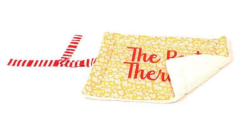 Cobertor Pillow Top para Cachorro   Gato Popcorn