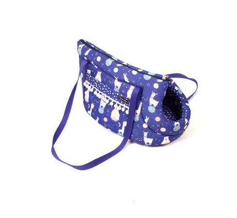 Bolsa de Passeio para Cachorros Space Animal Azul