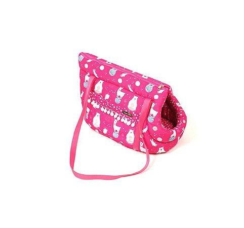 Bolsa de Passeio para Cachorros Space Animal Rosa