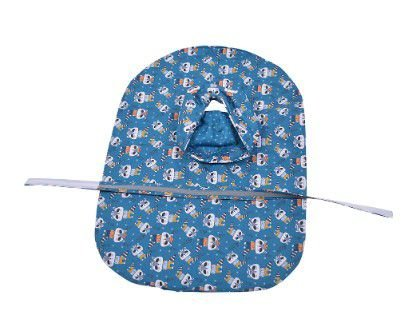 Capa de Chuva para Cachorros Guaxinim Azul Petróleo