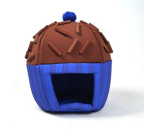Toca para Cachorros Brigadeiro Azul