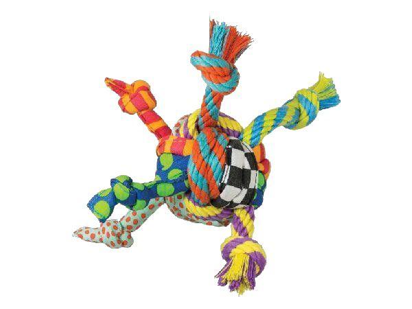 Brinquedo Bola de Corda Rag Rope para Cachorro Petstages
