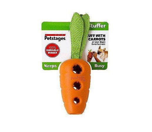 Brinquedo Inteligente para Cães Cenoura Recheável