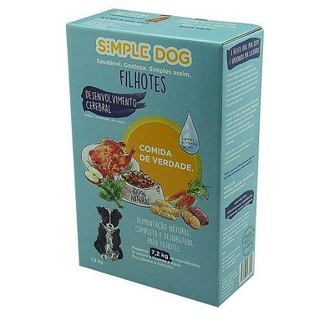 Ração para Cães Simple Dog Filhotes 1,8kg
