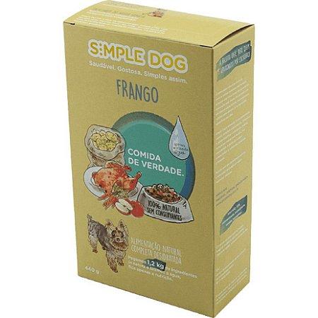 Ração para Cães Simple Dog Frango 440g