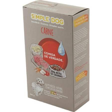 Ração para Cães Simple Dog Carne 440g