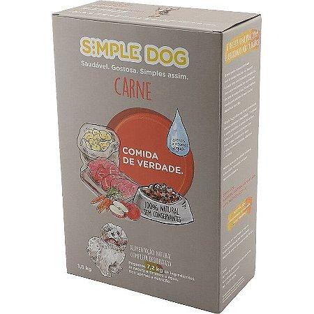 Ração para Cães Simple Dog Carne 1,8kg