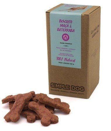 Biscoito para Cães Simple Dog Maçã & Beterraba 150g