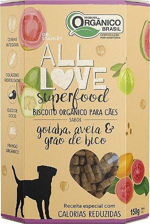 Biscoito Orgânico All Love Superfood | Goiaba, Aveia & Grão de Bico 150g