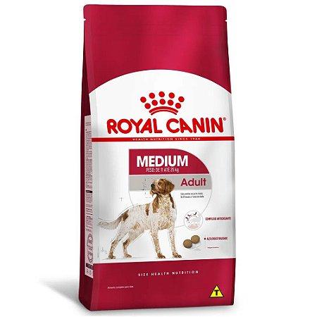 Ração Royal Canin Medium Adult para Cachorros Adultos de Raças Médias