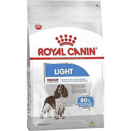 Ração Royal Canin Medium Light para Cachorros Adultos de Raças Médias - 15kg