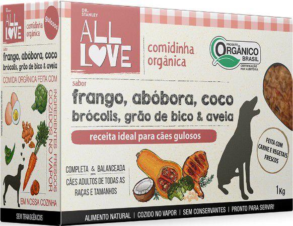 Comidinha Orgânica All Love para Cães Gulosos 1kg