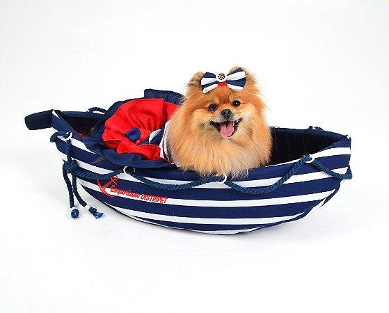 Cama Barquinho para Cachorros Marinheiro