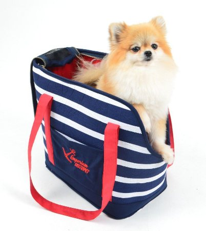 Bolsa de Passeio para Cachorros Marinheiro