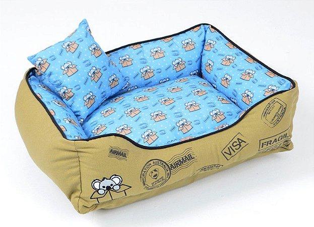 Cama para Cachorros Coala Azul