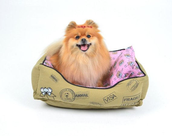 Cama para Cachorros Coala Rosa
