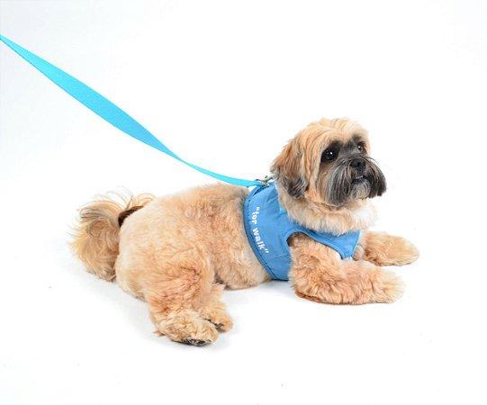 Peitoral com Guia para Cachorro Adventure Azul