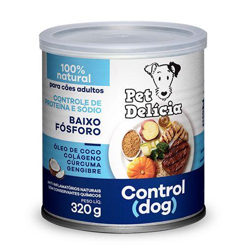 Ração Úmida Pet Delícia para Cães Control Dog 320g
