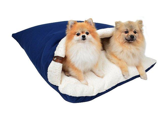 Almofadão para Cachorros | Gatos Sarja Premium Marinho
