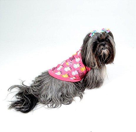 Blusão Básico para Cachorros | Gatos Girafa Pink