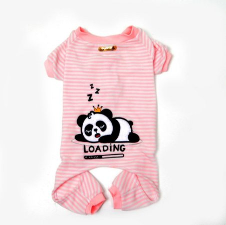 Pijama para Cachorros Panda Rosa