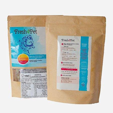 Adult Avestruz - Alimentação Natural Fresh4Pet para Cães Adultos