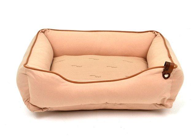 Cama para Cachorros | Gatos Sarja Premium Bege