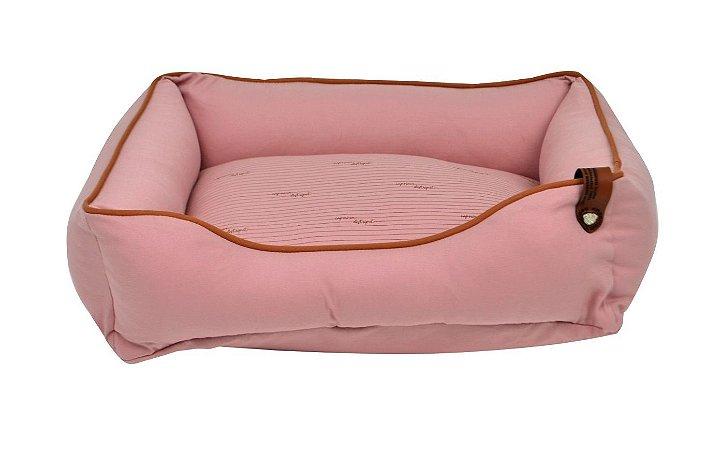 Cama para Cachorros   Gatos Sarja Premium Rosê